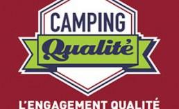 Plaque émaillée Camping Qualité France