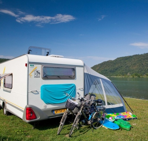 A quality pitch to set up your caravan