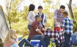 Emplacement pour tente et famille en vacances Camping Qualité France