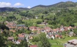 Soultzeren, Village dans les Vosges en Lorraine Camping Qualité