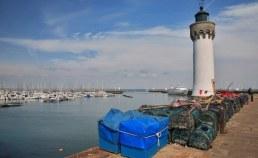 Port de pêche et phare dans le Morbihan Camping Qualité Bretagne