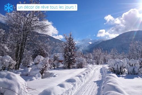camping en hiver france, paysages de rêve en Savoie
