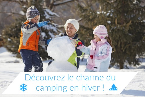 Réservation séjour camping en hiver en famille