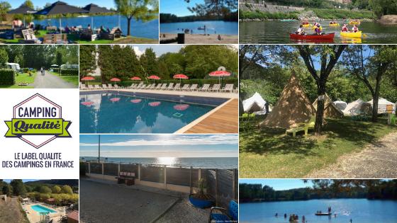 Nouveaux campings labellisés en 2019 - campings ayant obtenu le label Camping Qualité en France