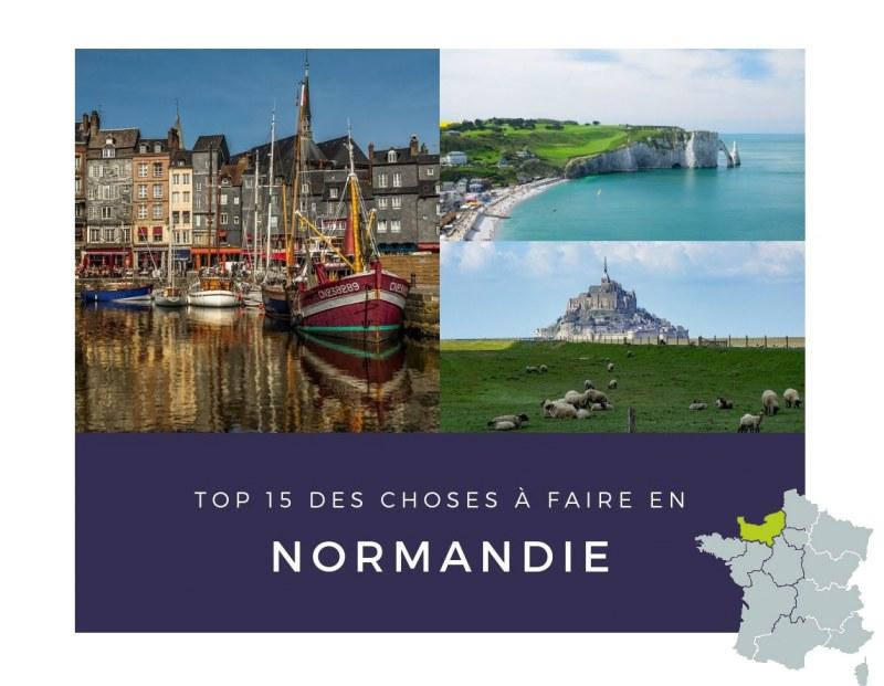 Découvrez les lieux touristiques incontournables en Normandie