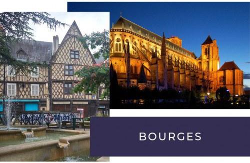 Incontournable depuis votre camping à Bourges