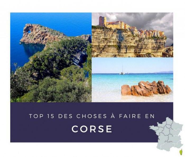 Incontournable depuis votre camping en Corse