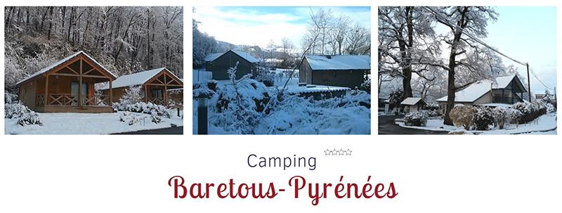 camping hiver au ski