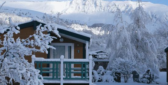 Découvrez nos camping au ski pour l'hiver