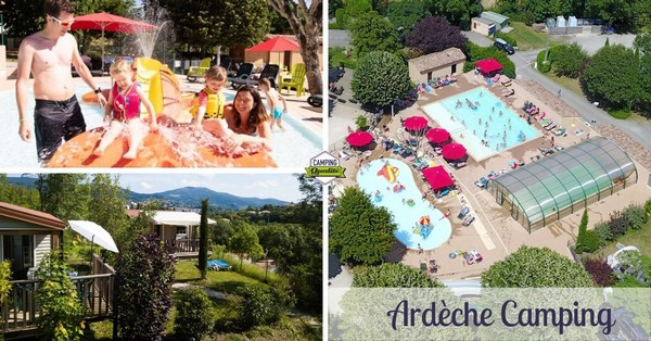 Visuel Ardèche Camping