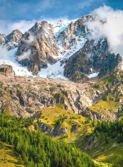 En la montana