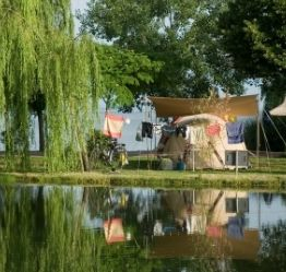 Campsite to cycle the loire