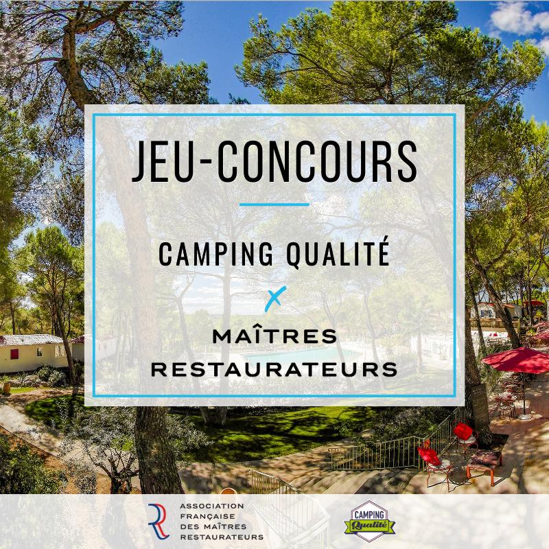 Camping Qualité x Maitres restaurateurs