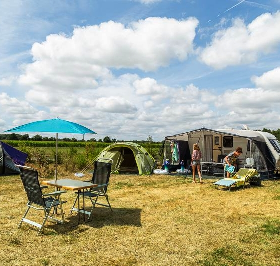 Camping pitch Vendée