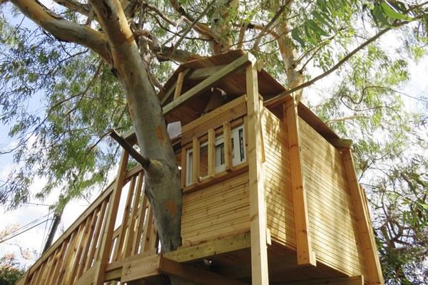 location cabane arbre insolite Camping Qualité France