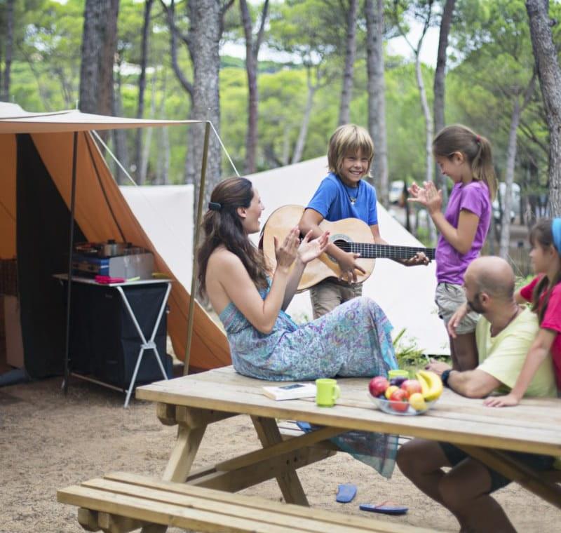 Tous les campings