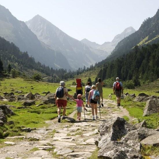 Camping in de bergen