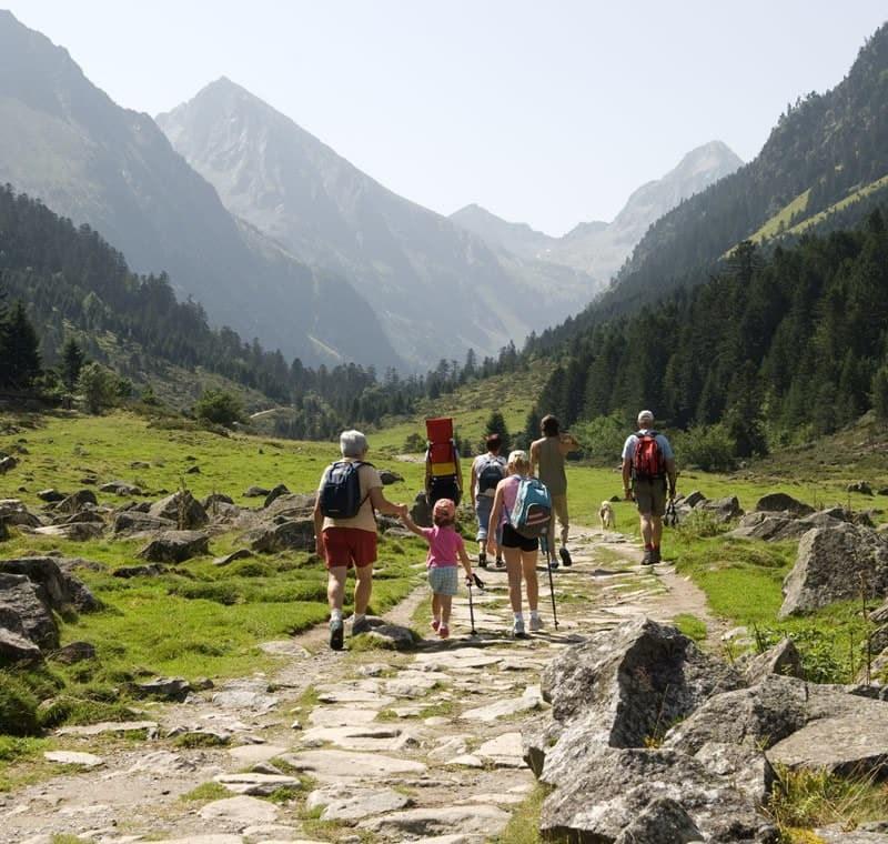 Campings à la montagne