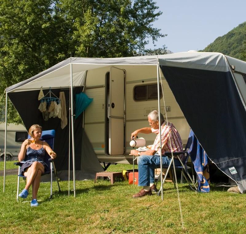Camping Qualité avec votre caravane