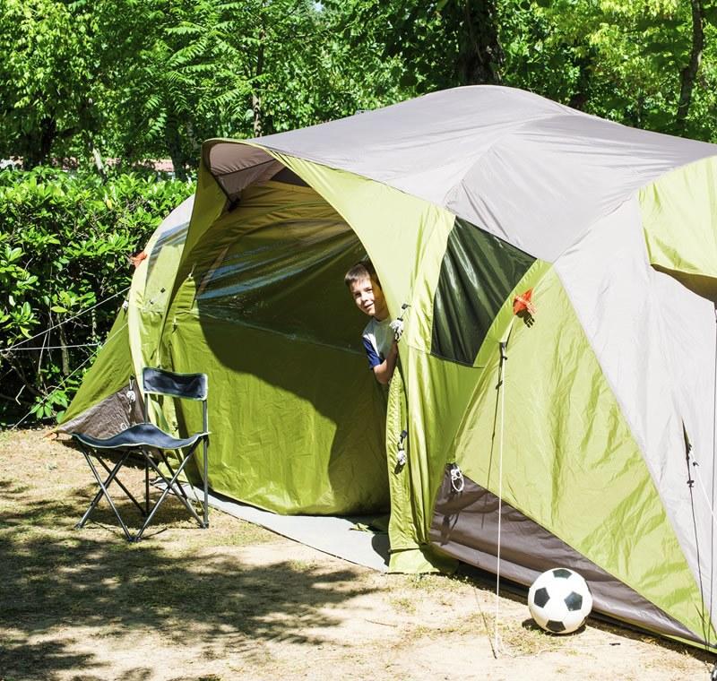 Camping Qualité avec votre tente