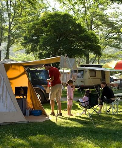 apéro emplacement tente Camping Qualité France