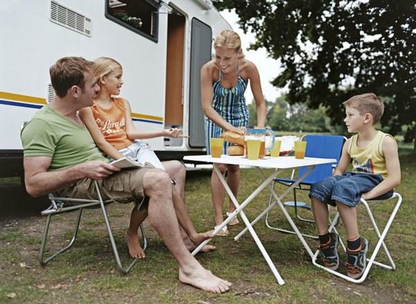 Vacances en camping-car en Famille Camping Qualité France