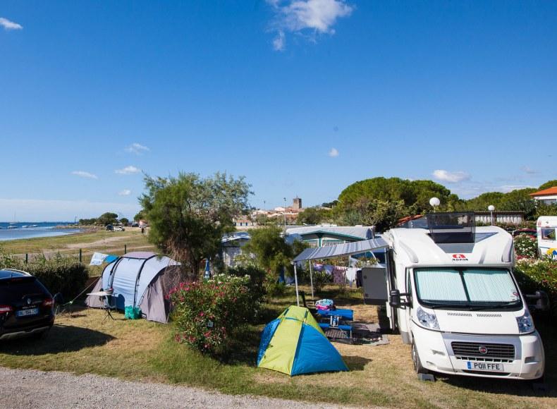 Réservez vos vacances à la mer en camping-car Camping Qualité
