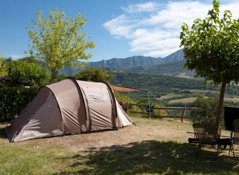 Réservez vos vacances en tente à la montagne Camping Qualité