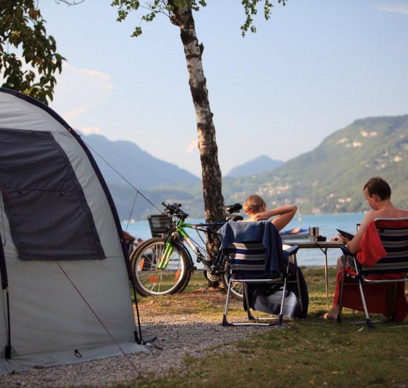 Een kampeerplaats van kwaliteit om uw tent op te zetten