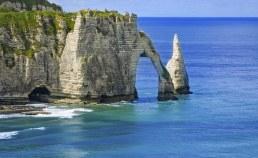Falaises d'Etretat en Normandie Camping Qualité