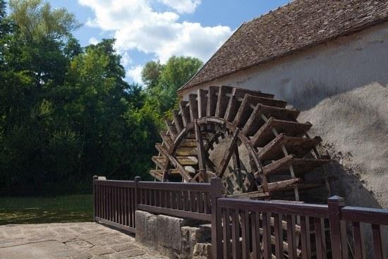 Moulin à la campagne en Seine-et-Marne Camping Qualité Île-de-France