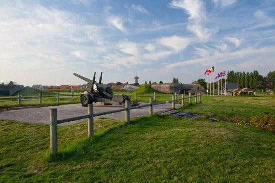 Canon de guerre dans le Calvados en Normandie Camping Qualité