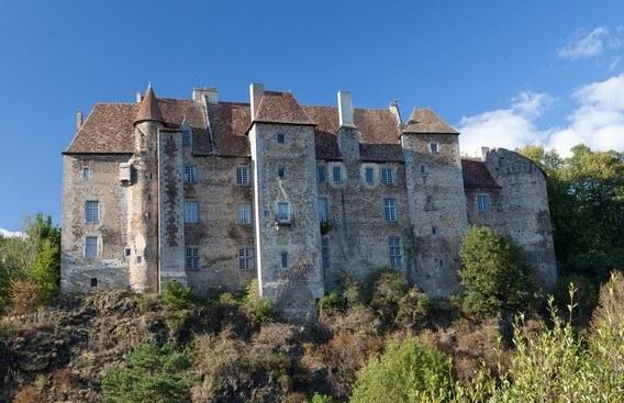 Château de Boussac dans la Creuse Camping Qualité Nouvelle Aquitaine