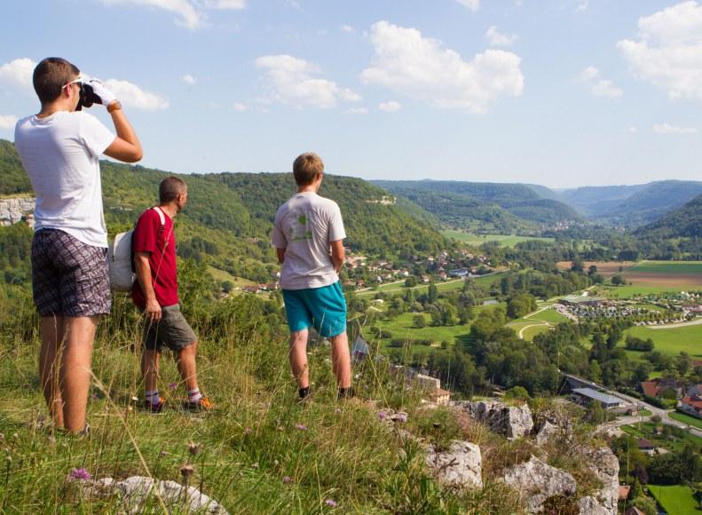 Randonnée à Ornans Camping Qualité Bourgogne-Franche-Comté