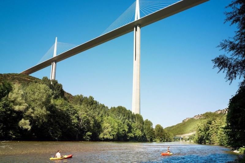 Viaduc de Millau en Aveyron Camping Qualité Occitanie