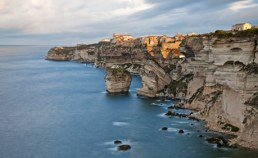 Falaises de Bonifacio en Corse Camping Qualité