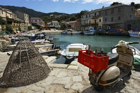 Région Corse Camping Qualité - Centuri harbor in corsica