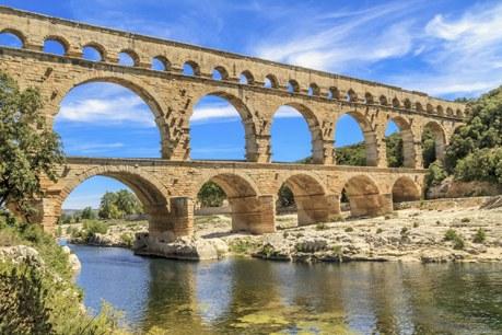 Département Gard Région Languedoc-Roussillon Camping Qualité - Pont du Gard, Nimes, Provence, France