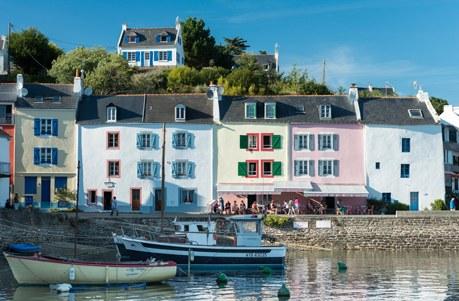 Région Bretagne Camping Qualité - France, Morbihan (56), Sauzon a Belle-Ile-en-Mer, le port