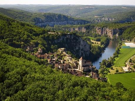 Région Midi-Pyrénées Camping Qualité - Saint-Cirq-Lapopie