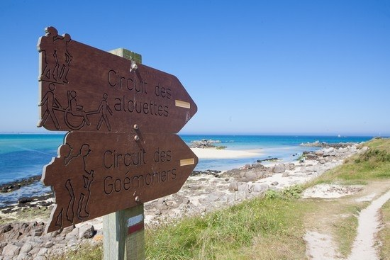 Chemins de randonnée en bord de mer en Bretagne Camping Qualité