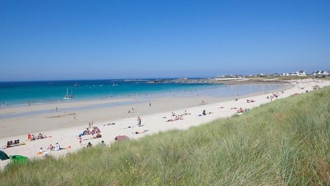 Plage de Keremma dans le Finistère Camping Qualité Bretagne