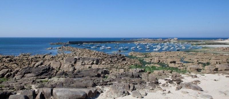 Baie de Kernic dans le Finistère en Bretagne Camping Qualité