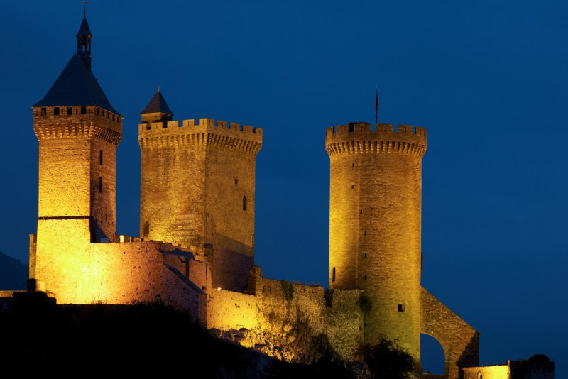 Château cathare de Foix Camping Qualité Occitanie