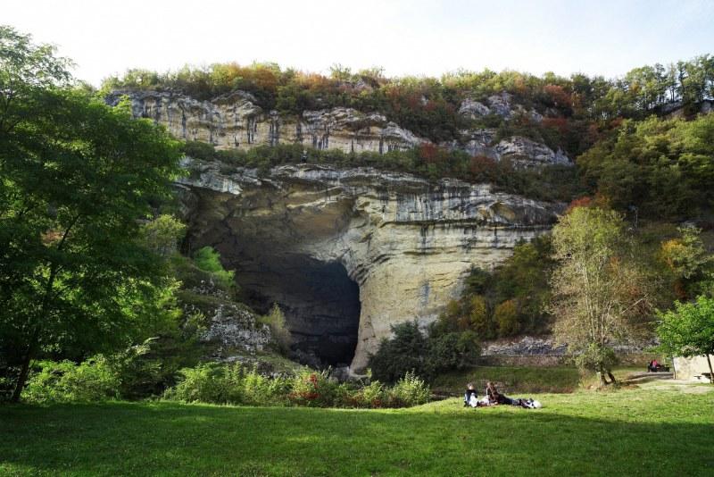 Grotte du Mas d'Azil en Ariège Camping Qualité Occitanie