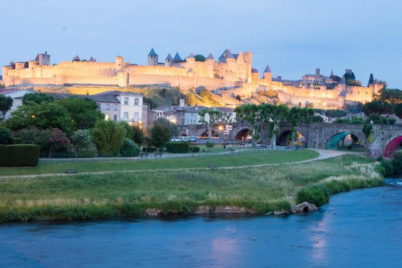 La Cité de Carcassonne dans le Département de l'Aude en Région Occitanie Languedoc-Roussillon Camping Qualité