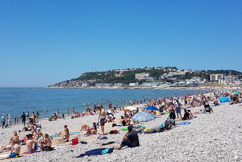 Plage du Havre en Seine-Maritime Camping Qualité Normandie