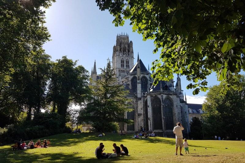 Cathédrale de Rouen en Seine-Maritime Camping Qualité Normandie