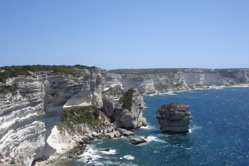 Détroit de Bonifacio en Corse du Sud Camping Qualité