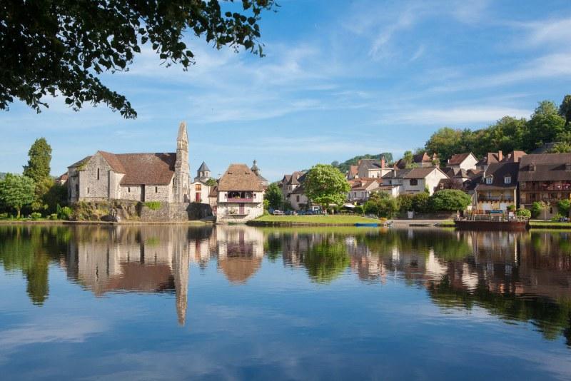 Beaulieu-sur-Dordogne en Corrèze